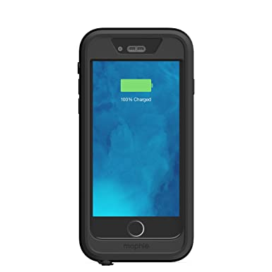 size 40 9d8f7 22c6c Mophie H2Pro Juice Pack Waterproof Case for iPhone 6 - Black