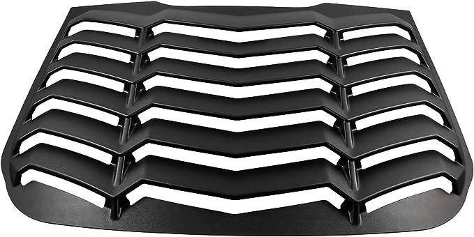 Danti Rear Window Louvers Sun Shade Cover in GT Lambo Style for 2013-2018 Ford/Fusion/Models/Such/as/The/S,/SE,/S/Hybrid,/Hybrid/SE,/Titanium,/Hybrid/Titanium,/ENERGI/SE,/