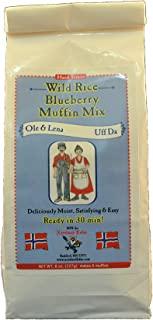 product image for Ole & Lena WIld Rice Blueberry Muffin Mix 8 oz 6 pack