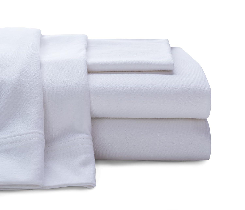 amazoncom baltic linen company cotton jersey sheet set queen purple home u0026 kitchen