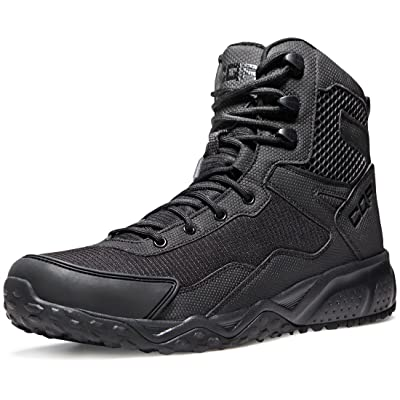 CQR Men's Combat Military Tactical Mid-Ankle Boots EDC Outdoor Assault: Shoes
