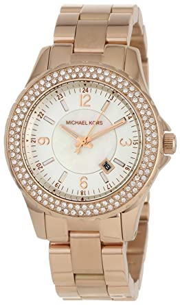b2a709cd22b3 Michael Kors - Quartz Classic Rose Gold with White Dial Women s Watch -  MK5403
