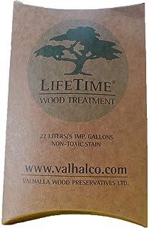 Valhalla Wood Preservative 1-Gallon Eco Friendly Non Toxic