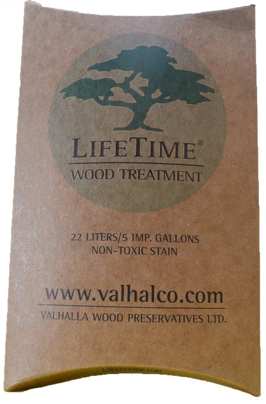 Valhalla Wood Preservatives 5-Gallon Eco Friendly Non Toxic Lifetime Wood Treatment Pouch