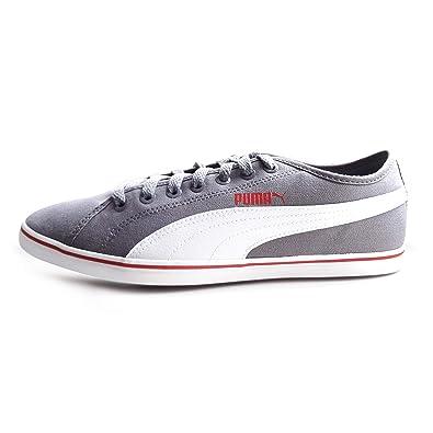 50c8d17e9e6 Puma - Zapatillas de Lona para Hombre Gris Gris: Amazon.es: Zapatos y  complementos