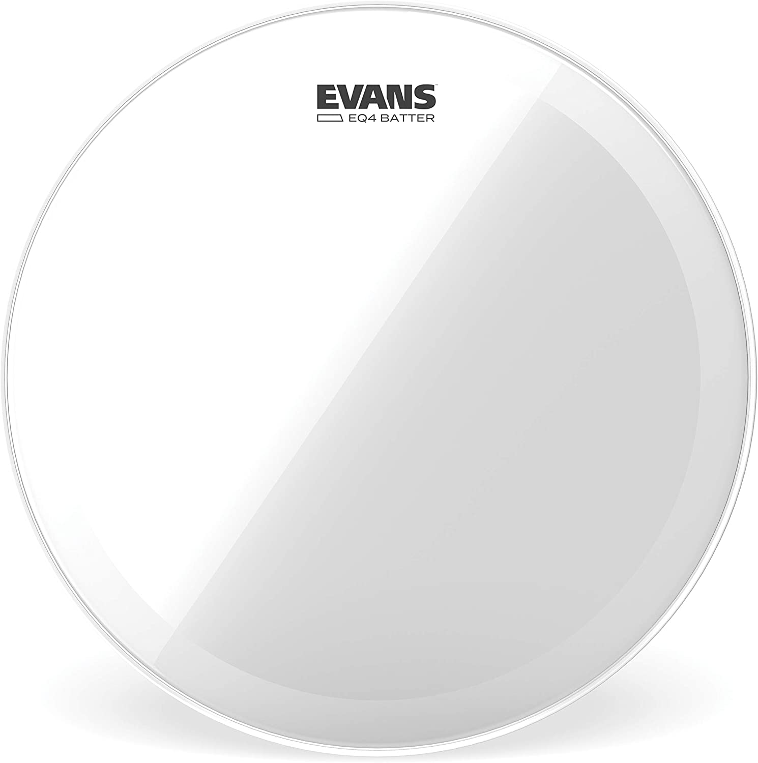 Evans EQ4 Clear Bass Drum Head, 20 Inch
