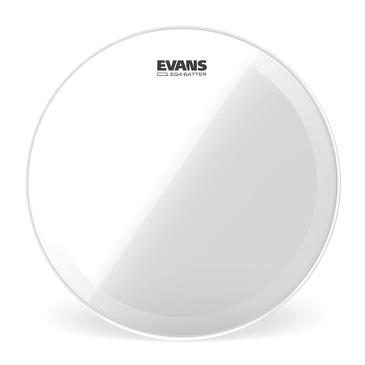 Evans EQ4 Clear Bass Drum Head, 22 Inch