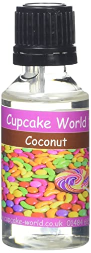 Cupcake World Intense Food Flavouring Coconut 28.5 ml (Pack of 2)