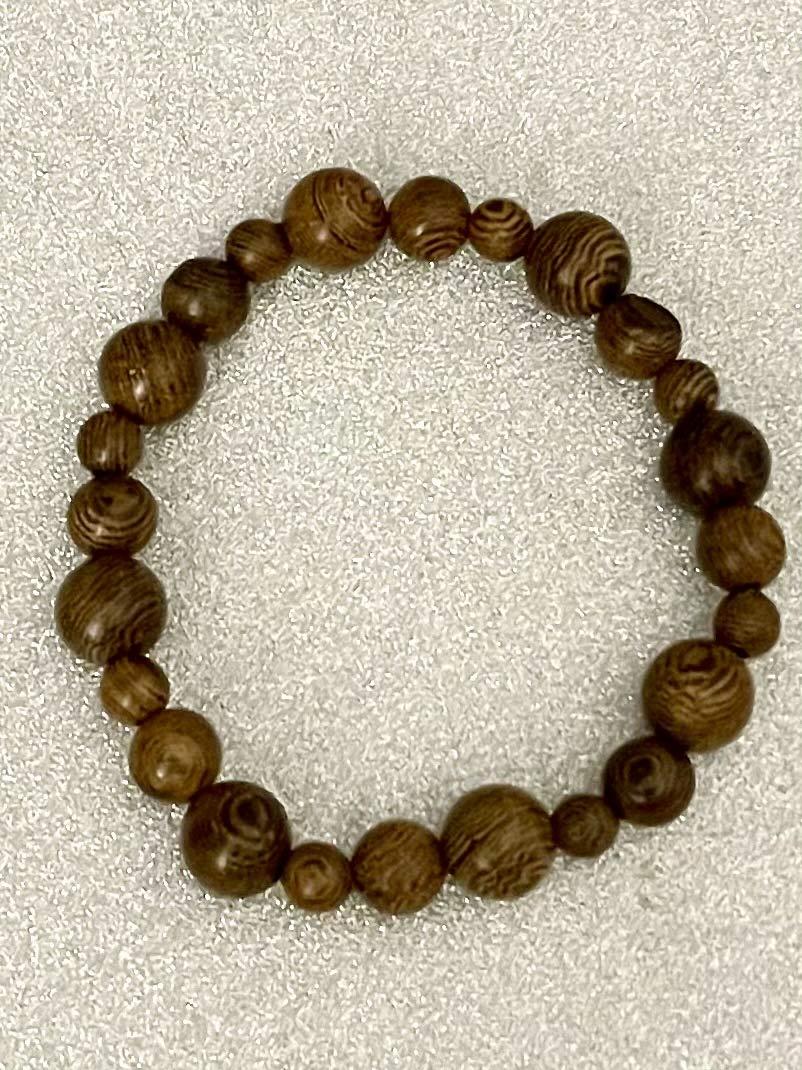 Wooden Women/'s Mens Unisex Bracelet Handmade Gift Stretchy
