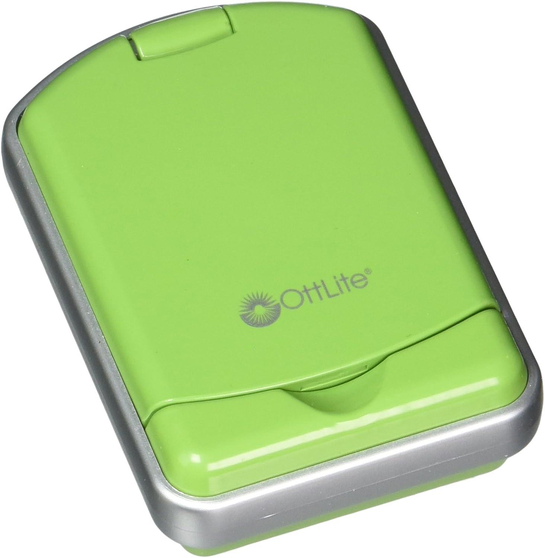OttLite 49039C LED Mini Flip Lite, 1.75 x 4.25 x 7.0 , Green Finish