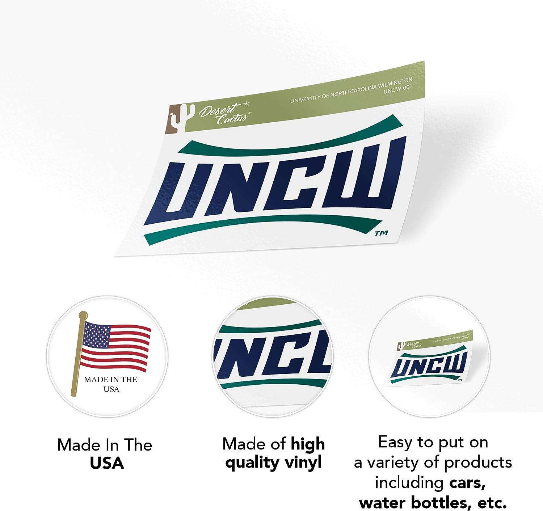 University of North Carolina Wilmington UNCW Seahawks NCAA Vinyl Decal Laptop Water Bottle Car Scrapbook Sticker - 001