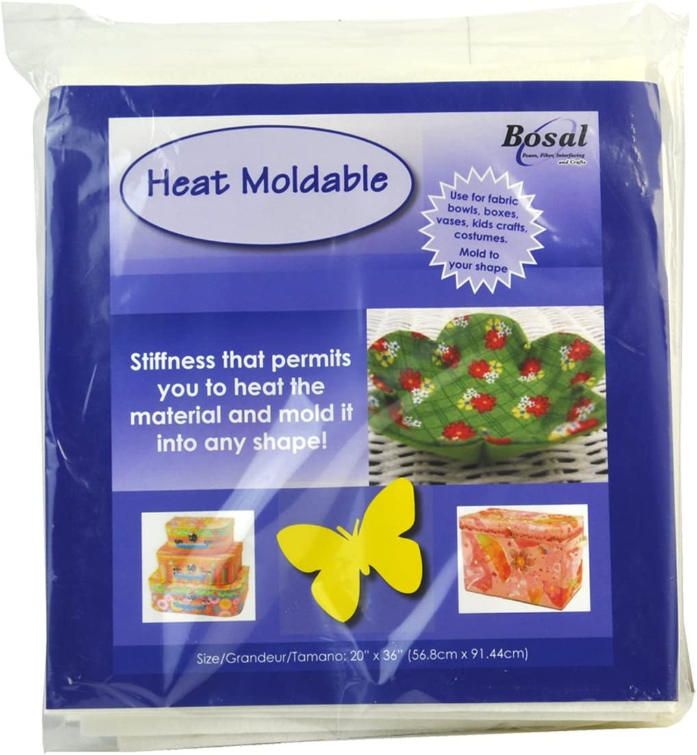 Moldable Heat Activated Batting 18in x 45in