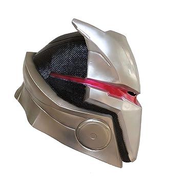 yacn Fortnite Omega máscara de la Piel para Hombres Traje de Plata Traje máscara de Juego