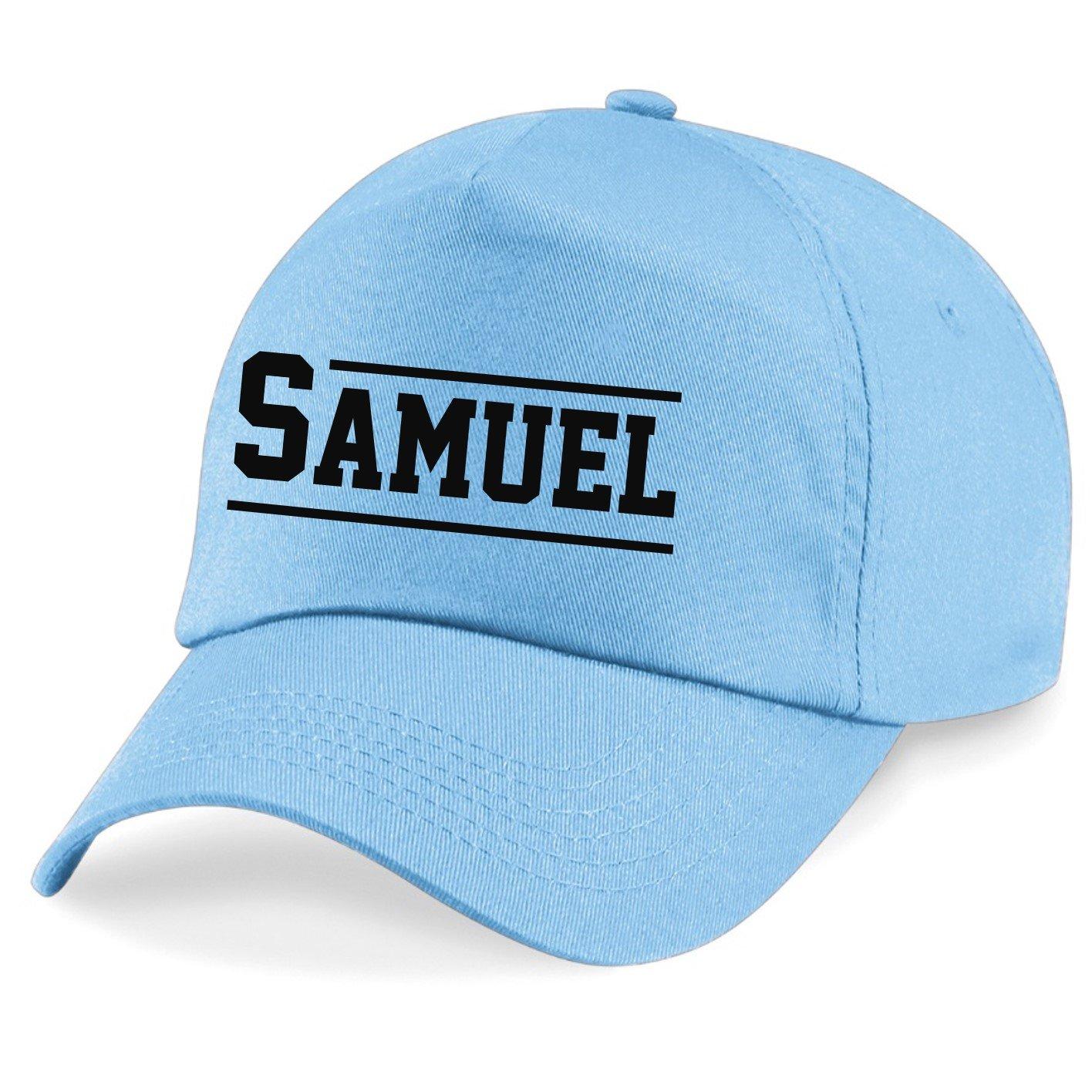 Direct 23 Ltd Kids Personalised Varsity Name Baseball Cap