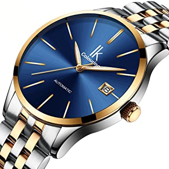 Mechanical Watches Business Mechanical Mens Watch Automatic Self Winding Stainless Steel Watch Strap High Quality Mens Watches Reloj Top Gifts Modern And Elegant In Fashion Watches
