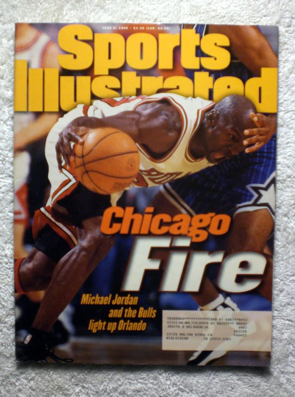 5178f40a2cf1a Chicago Fire - Michael Jordan and the Chicago Bulls Light Up Orlando ...