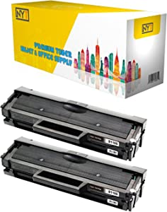 NYT Compatible Toner Cartridge Replacement for Dell 1160 (331-7335) for Dell B1160, B1160W, B1163w, B1165nfw (Black, 2-Pack)