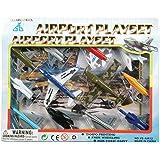 Kids Authority Airplane set - 1 Dozen Assorted Airplane Die Cast