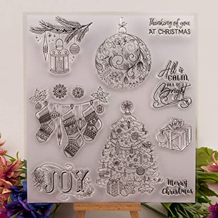 Transparent Silicone Rubber Clear Stamps Scrapbooking Decor Embossing DIY Gift