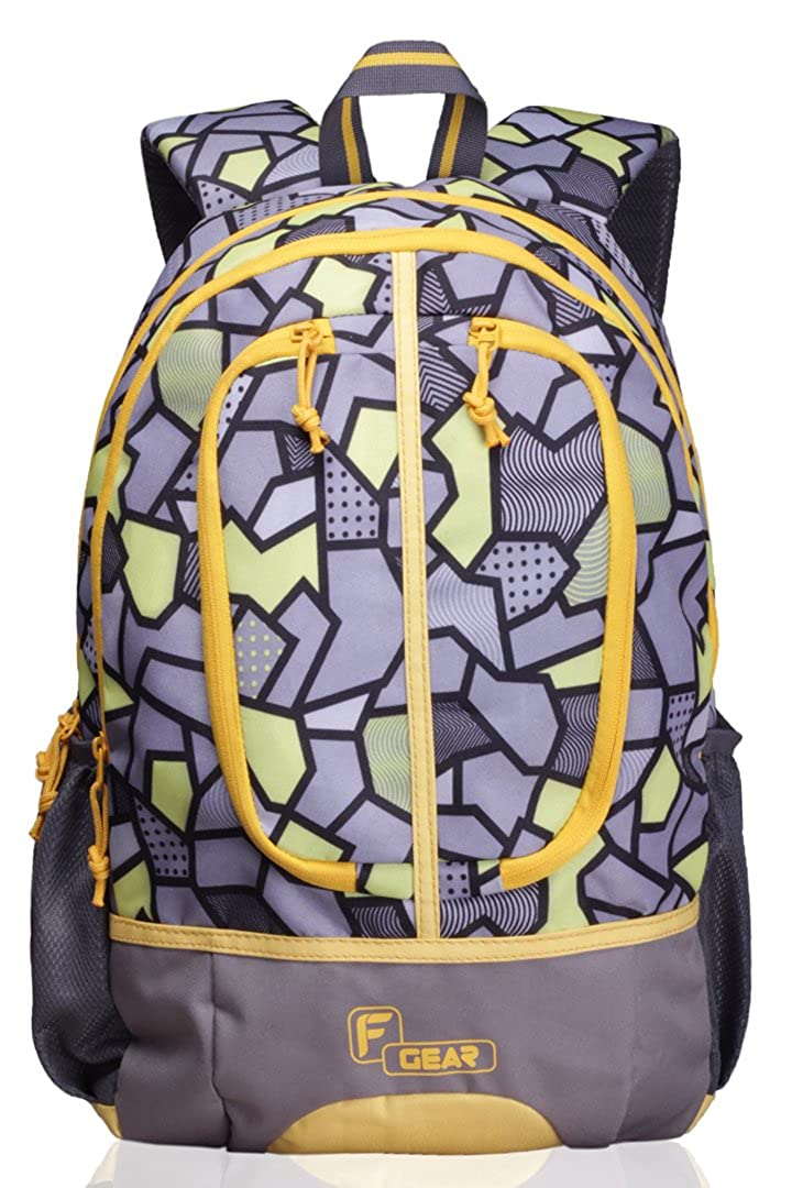 F Gear Dropsy 3D 22 Ltrs Casual Laptop Backpack (2250) - Orange