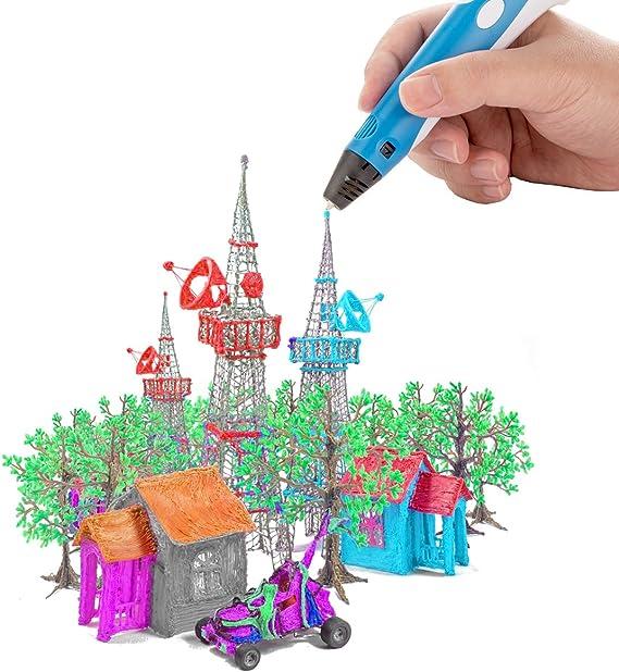 Mture Filamentos de 3D Impresión, 12 Colores PLA Materiales de ...