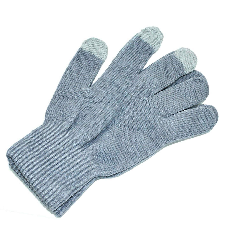 Cashmere Knit Touchscreen Fingers Screen Warm Fleece Gloves Keep warm quentes Mens Winter