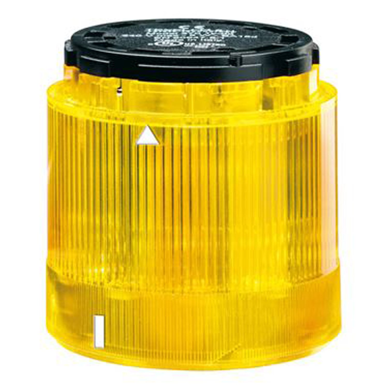 Yellow Bulb Sold Separately ASI 8LT7GLB5 24 VAC//DC LED Blinking Tower Light Module 70 mm
