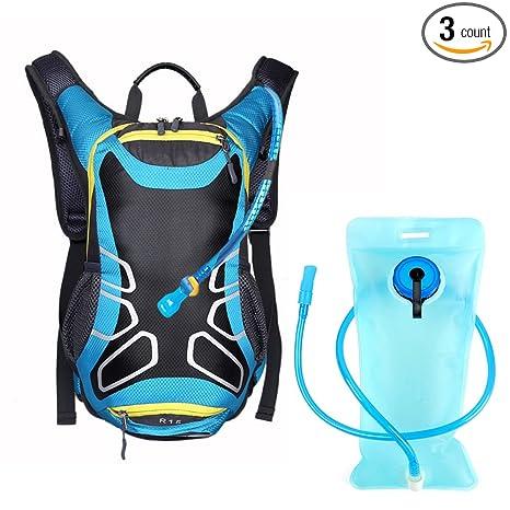 Amazon.com: ezyoutdoor Azul Mochilas Mochila para Camping ...