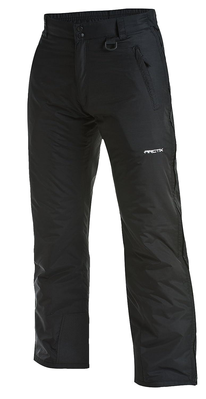 Arctix Men's Classic Full Side Zip Snow Pants, Black