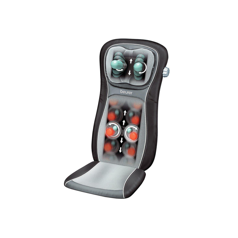 Beurer MG260 Shiatsu Massage Seat Cover HD Black
