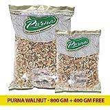 Purna Walnut - 800 gm + 400 (Pack of 2)