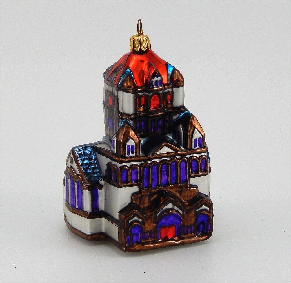 Trinity Church Boston -Blown Glass Ornament