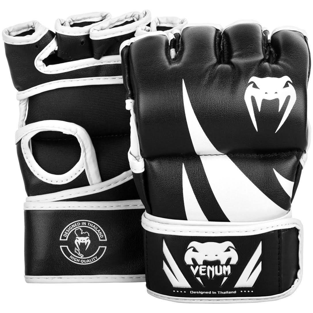 Venum Challenger MMA Gloves - Without Thumb - L/XL, Black, Large/X-Large by Venum