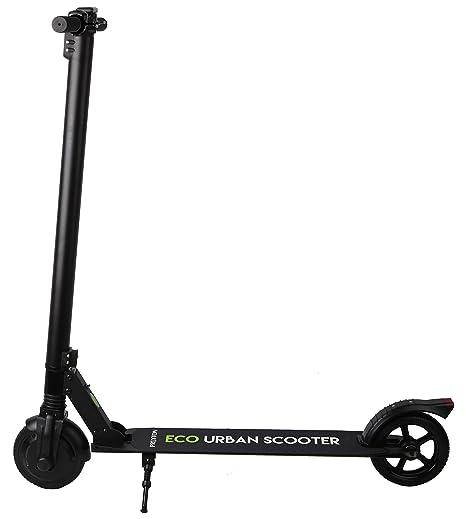 PRIXTON SCO652 Eco Urban Scooter – Patinete Eléctrico con Ruedas de 65 Pulgadas, Freno Eléctrico y Manual, Plegable