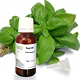 Allin Exporters Basil Oil - 100% Pure , Natural & Undiluted