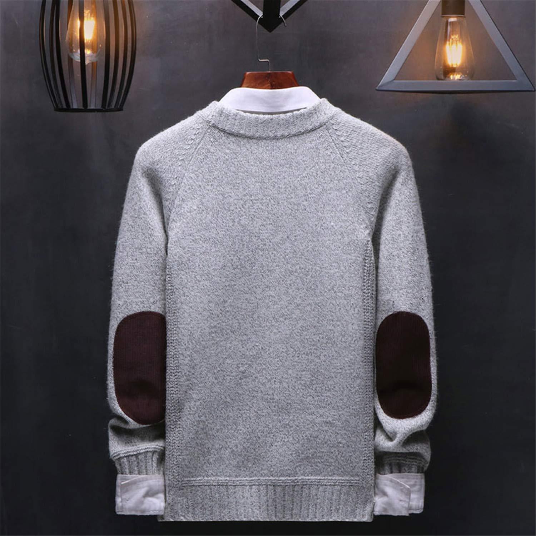 Beancan Men Fashion Style Sweaters Men Autumn Winter Knitted Wigeo Dark Blue Pullover O-Neck Casual Men Sweater M-XXXL