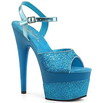 b1ec9ab1550 Pleaser Womens ADORE-709-2G /FSG/M Sandals
