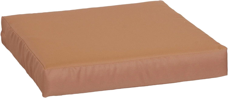 Premium Lounge Seat Cushion Cushion In Sand 70 X 70 Cm 9 Cm