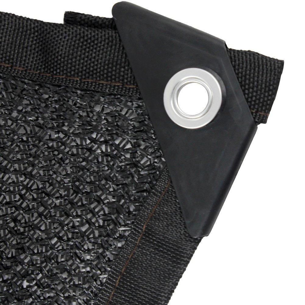 BeGrit 80% Sun Mesh Sunblock Shade Cloth UV Resistant Net for Garden Cover Flowers Plants Patio Lawn