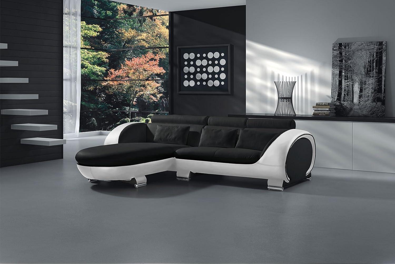 Sam Ecksofa Couch Sofa Vigo Combi 1 181 X 242 Cm In Schwarz