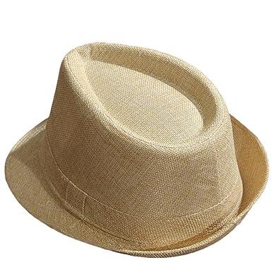 Cupcinu Panama Summer Sun Beach Straw Hat British Jazz Style Fedora Trilby  Straw Hat Cap Foldable 5b699d66311b