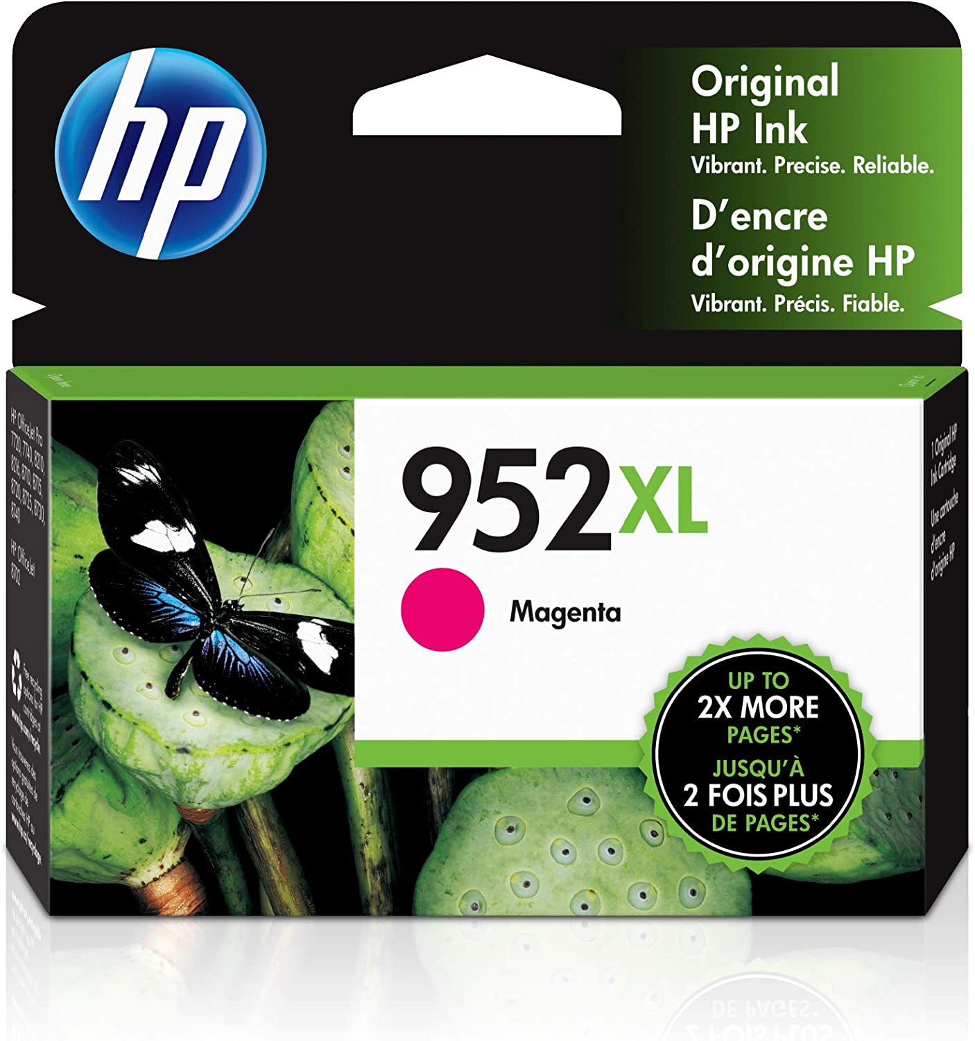 Magenta, 1-Pack SuperInk High Yield Remanufactured Ink Cartridge Compatible for HP 952 952XL 952 XL LOS64AN use in Officejet Pro 8710 8720 8216 7720 7740 8200 8210 8715 8740 Printer