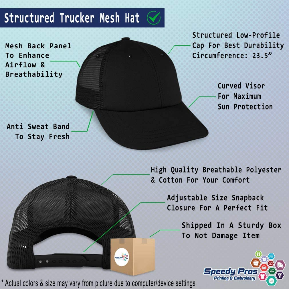 Custom Trucker Hat Baseball Cap Best Father Universe Embroidery Dad Hats for Men