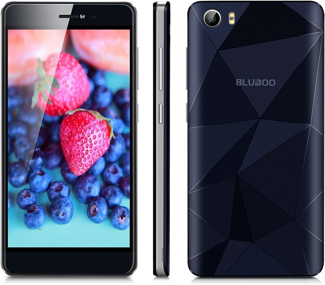 Bluboo Picasso - 4G Smartphone Libre Android 6.0 con NFC (Cámara de Belleza, HD Pantalla 5.0 IPS, MT6735 Quad Core 1.0 GHz, 2G Ram, 16G ROM, Dual Sim, Bluetooth 4.0 GPS WiFi,