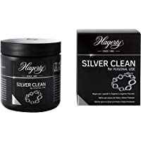 Hagerty Silver Clean Baño de inmersión de joyería para limpiar joyas de plata y plateadas 170 ml I Rápido y eficaz…