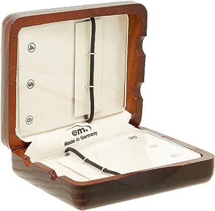 GEWA 751005 - Estuche de madera para 6 lengüetas de clarinete, color marrón rojo: Amazon.es: Instrumentos musicales
