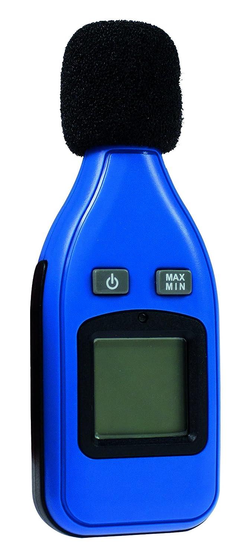 as - Schwabe Dezibel-Messgerä t, digital, zur Messung von Schallpegel, Lä rm und Lautstä rke, 1 Stü ck, blau, 24105