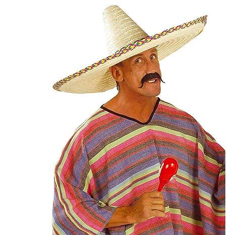Sombrero messicano cappello di paglia formato gigante copricapo estivo per  party e feste in maschera - 5562b1493589