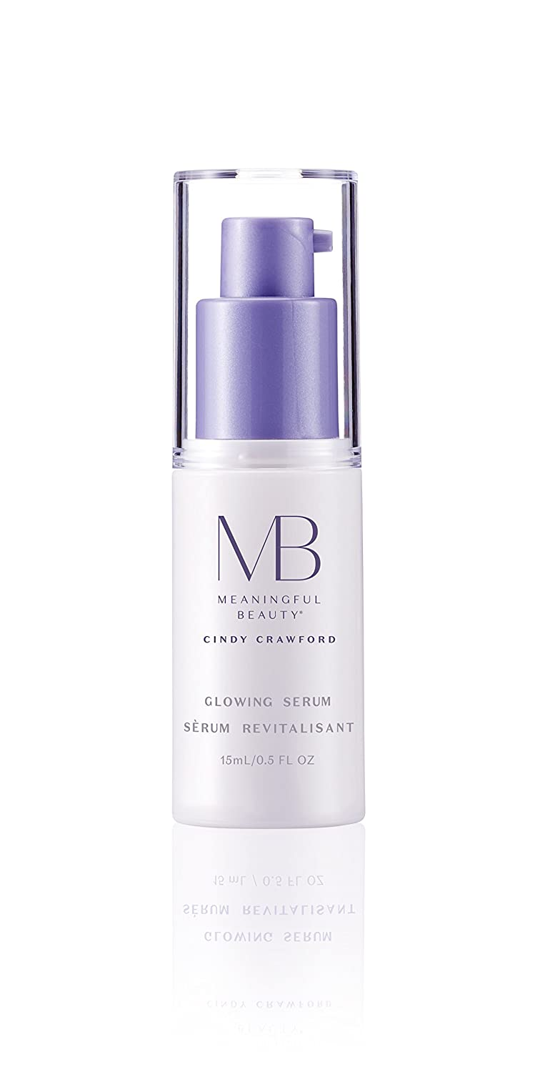 Meaningful BeautyGlowing Serum , Radiance Booster with Fruit and Mineral Extracts , 0.5 Oz , MT.2067
