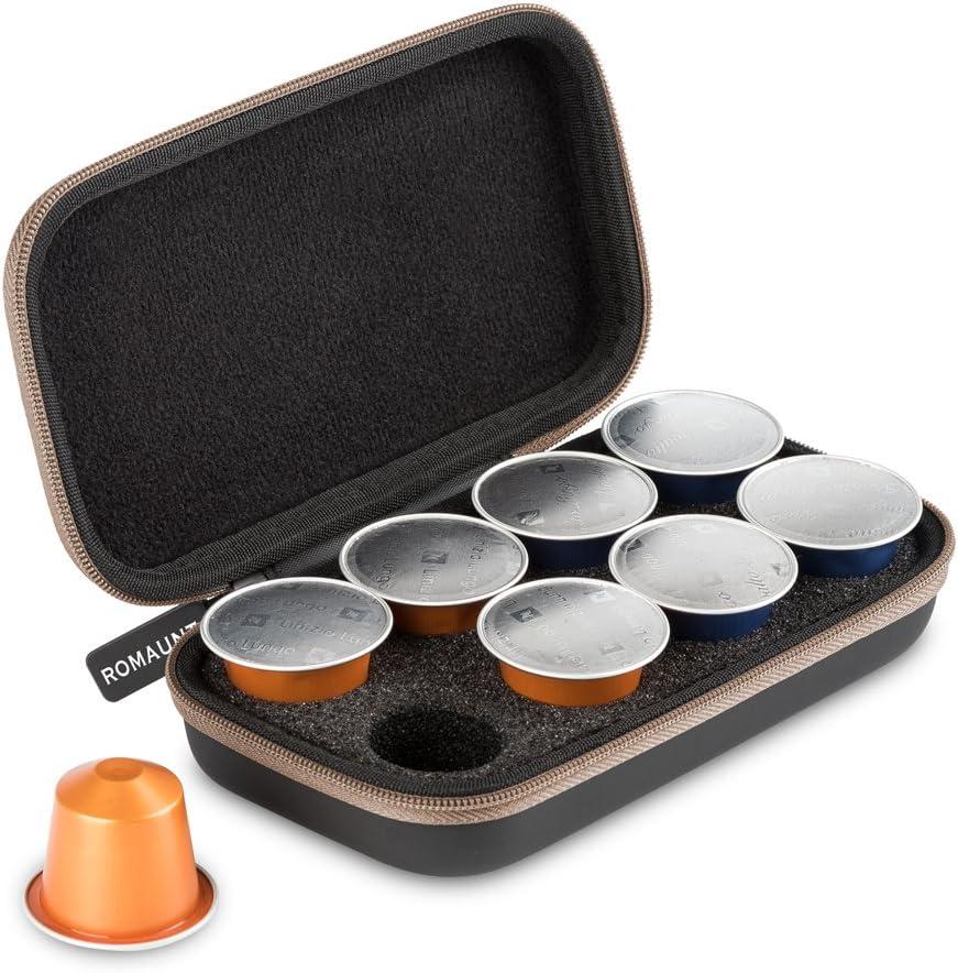 ROMAUNT Estuche portátil para Cápsulas de café compatibles con ...